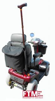 Praktische accessoires voor de scootmobiel