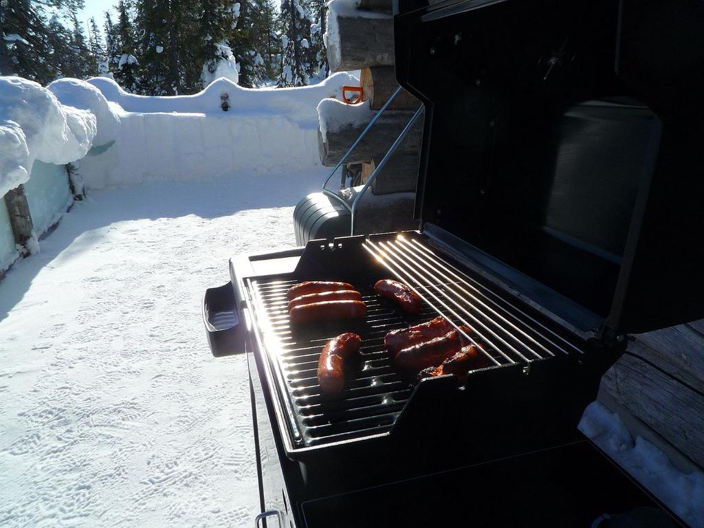barbeque in de winter