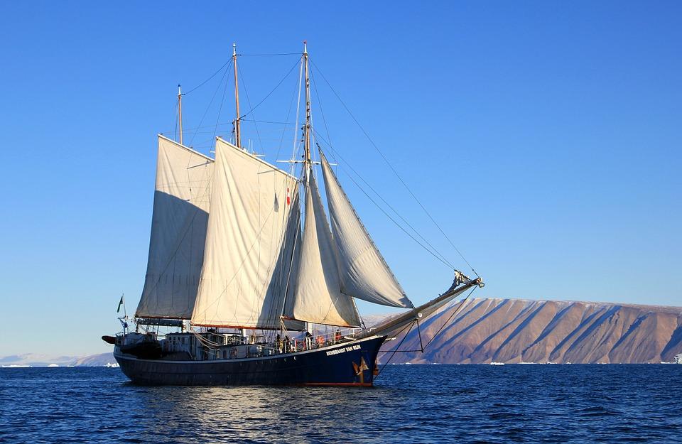 Op reis met een boot