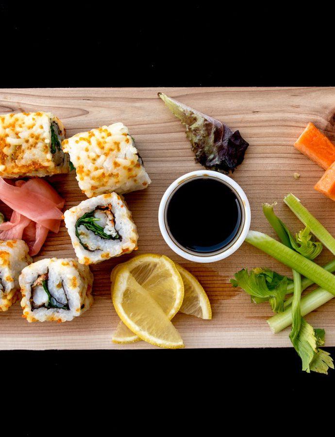 Bekendste soorten sushi