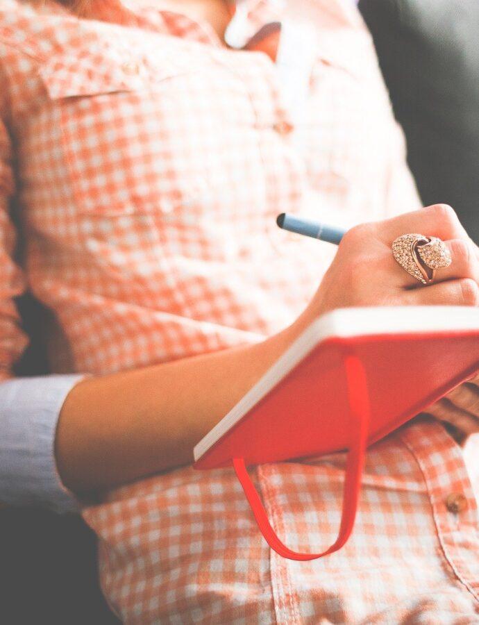 4 redenen om een dagboek bij te houden