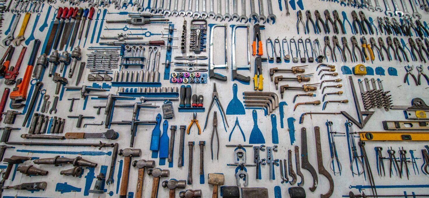 Welk gereedschap kun je het beste gebruiken voor de bouw?